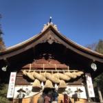 諏訪大社へ初詣