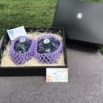 贈答用小箱がつどい農園オリジナル化粧箱となりました